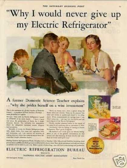 Electric Refrigeration Bureau (1931)