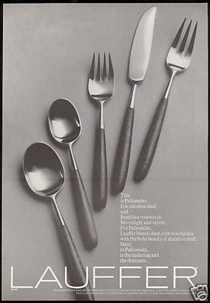 Lauffer Flatware Wallance Design (1969)