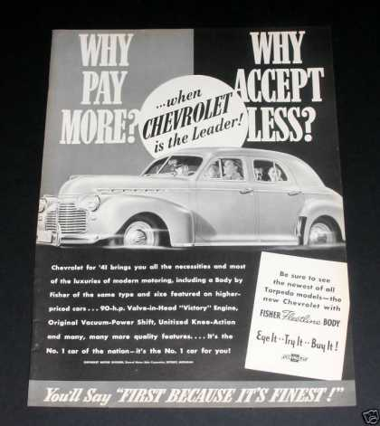 Chevrolet, Try It Buy It (1941)