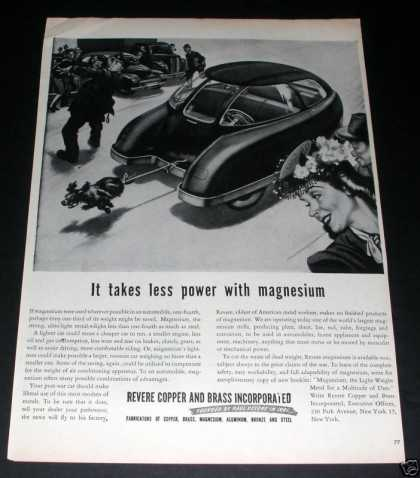 Revere Copper, Futuristic Car (1945)