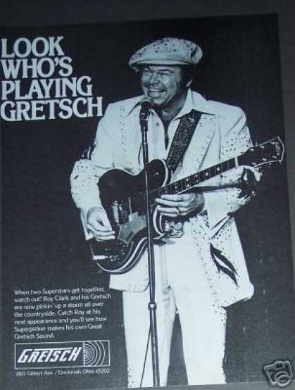 Roy Clark Plays Gretsch Guitar (1979)