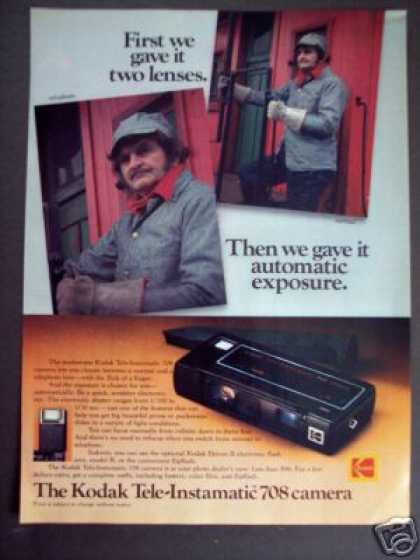 Kodak Tele Instamatic 708 Camera (1978)
