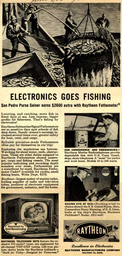Raytheon Manufacturing Company's Various – Electronics Goes Fishing (1952)