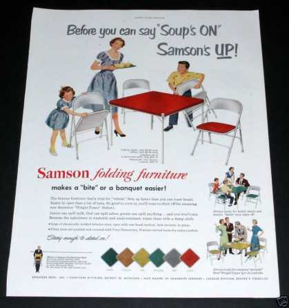 Samson Folding Furniture (1951)