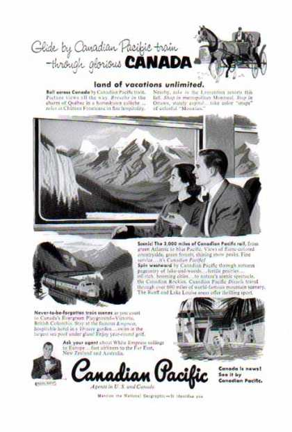 Canadian Pacific Railroad – 3000 miles of Rail (1953)