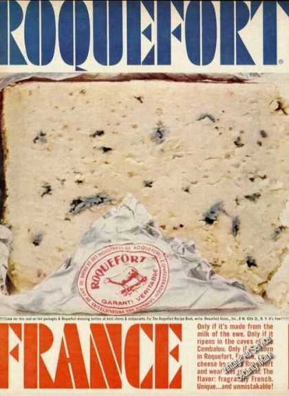 Roquefort Cheese Only From France (1961)
