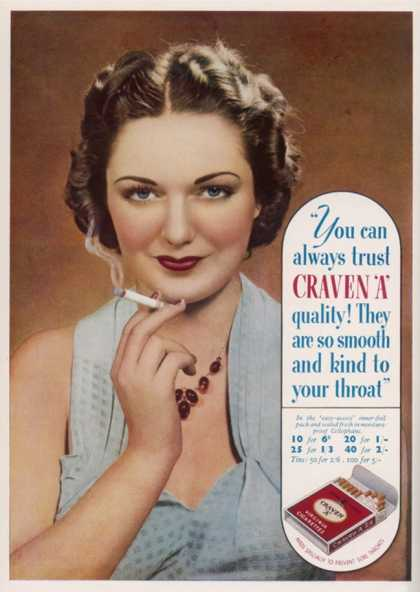 Craven a Cigarettes, You Can Always Trust the Quality