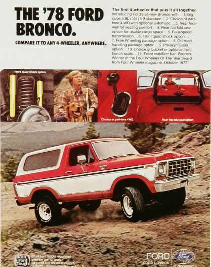 The '78 Ford Bronco
