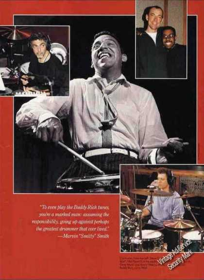 Print Feature Buddy Rich Print Photo Circa 1954 (1994)