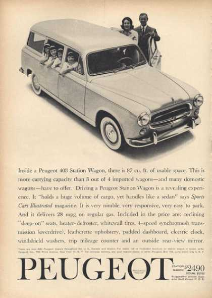 Peugeot 403 Station Wagon (1961)