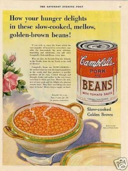 Campbell's Pork and Beans (1931)