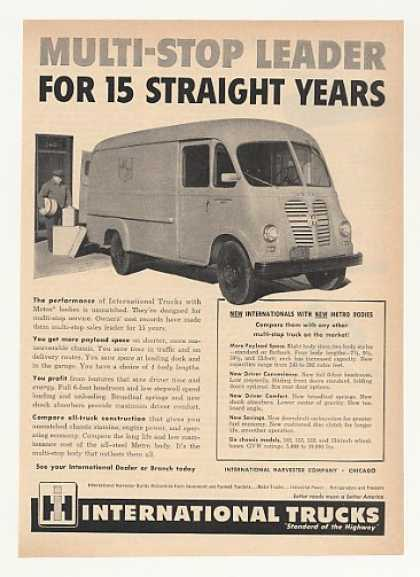 IH International Harvester Metro Delivery Truck (1953)