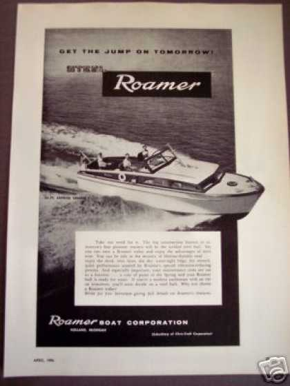 Roamer Boat 35' Express Cruiser Yacht Photo (1956)
