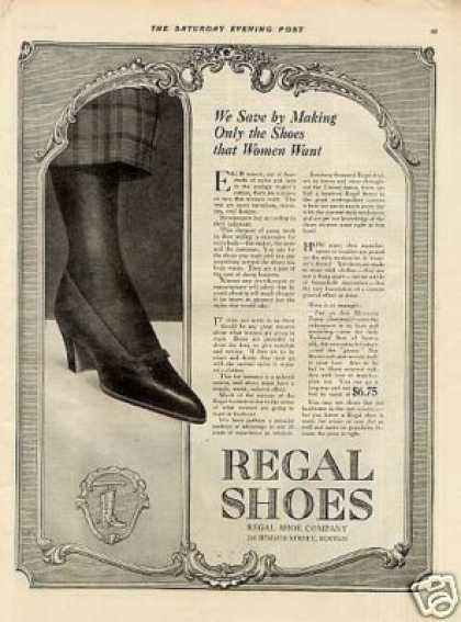 Regal Shoes (1918)