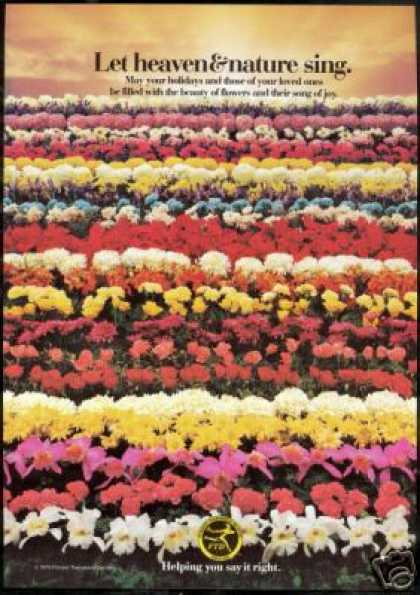 Ftd Florist Flowers Heavens Nature Photo (1979)