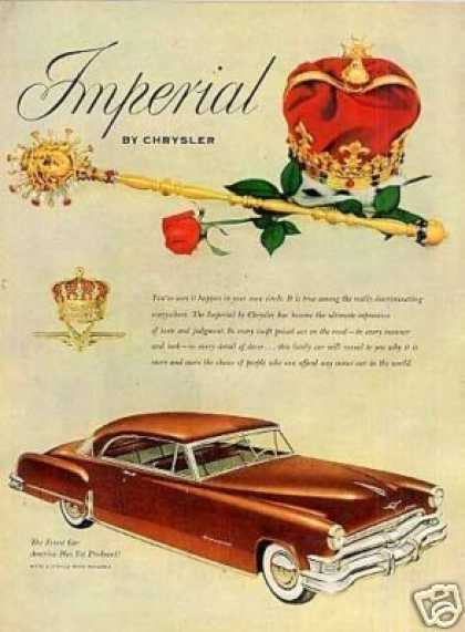 Chrysler Imperial Car (1952)