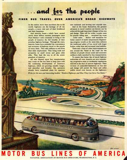 Motor Bus Lines of America – ...and for the people (1945)