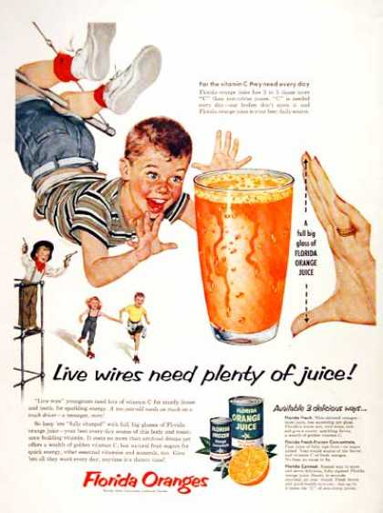 Florida Orange Juice #2 (1954)