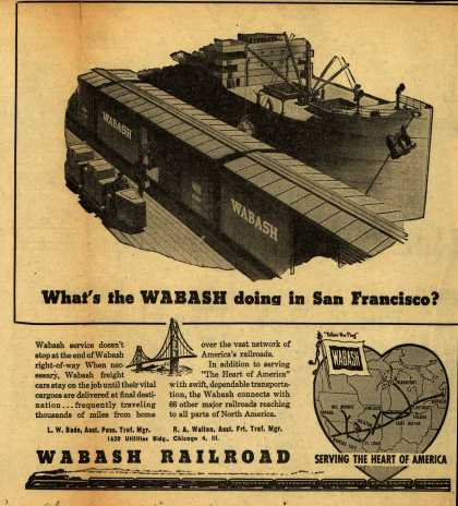 Wabash Railroad – What's the WABASH doing in San Francisco? (1945)