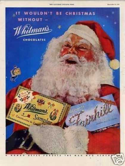 Whitman's Chocolate Candy (1945)