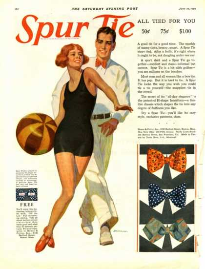Spur Tie, USA (1929)