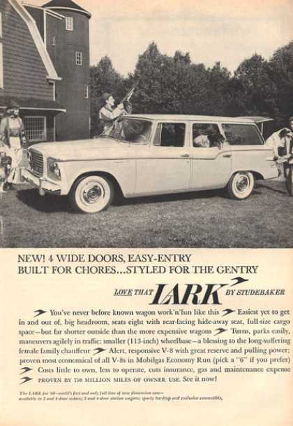 Studebaker Lark Station Wagon Bird Hunter Dog (1959)