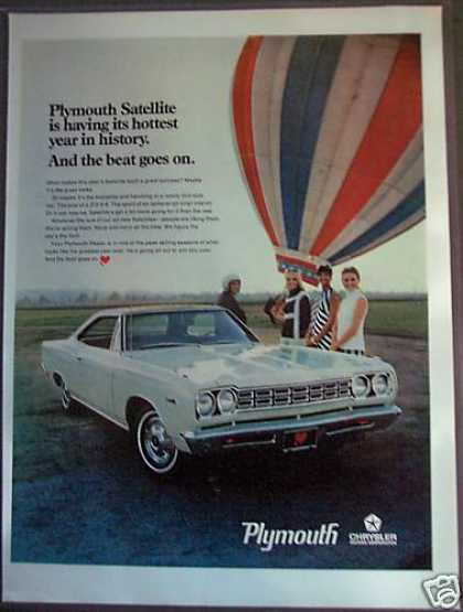 Plymouth Satellite Hot-air Balloon Car (1968)