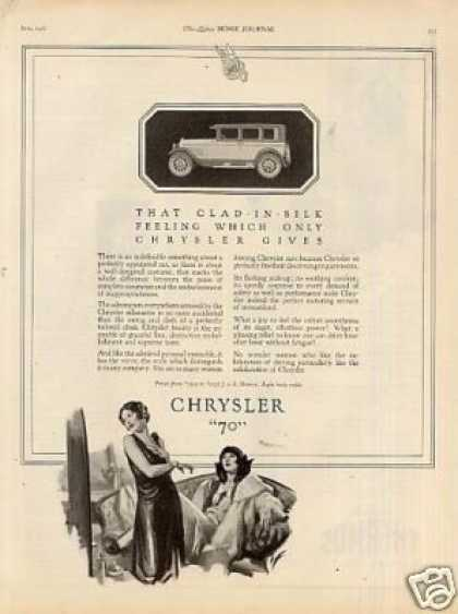 "Chrysler ""70"" Car (1926)"