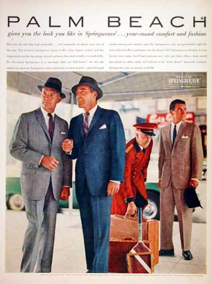 Palm Beach Men's Suits (1957)