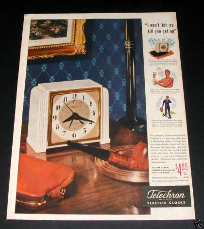 Telechron Electric Clock (1946)