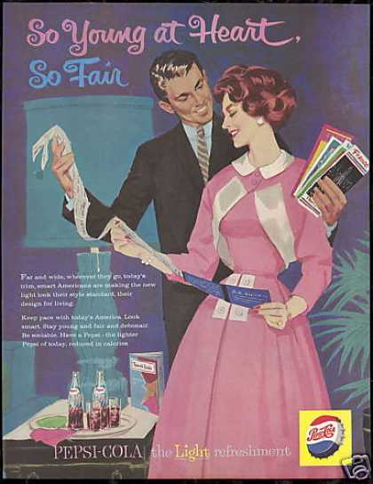 Pepsi Cola So Young So Fair Vintage Pop (1959)