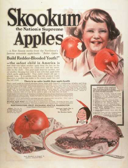 Skookum Apples, USA (1920)