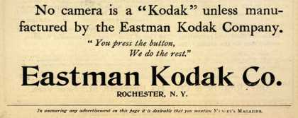 Kodak – Eastman Kodak Co. (1897)