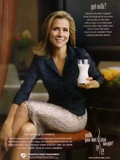 Meredith Vieira – GOT MILK (2005)