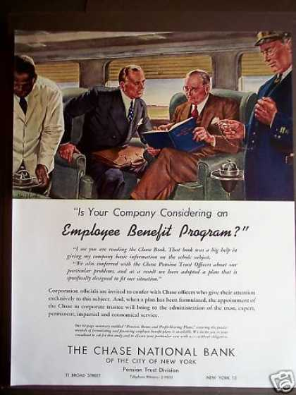 Chase National Bank Ny Employee Benefit Program (1946)