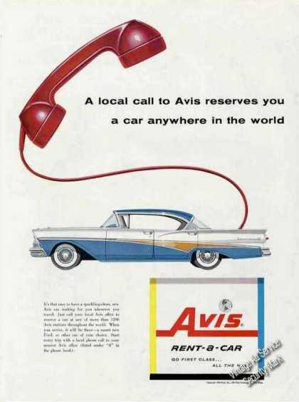 Ford Nice Color Picture Avis (1958)