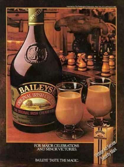 Baileys Irish Cream Celebrations & Victories (1983)