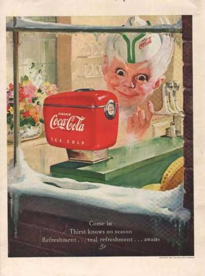 Coca Cola Soda Refreshmen (1949)