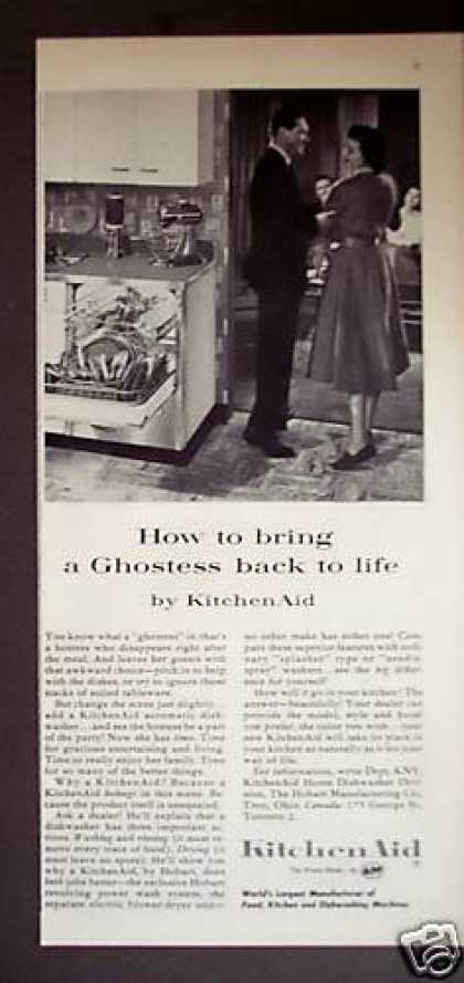 Kitchen Aid Automatic Dishwasher (1956)