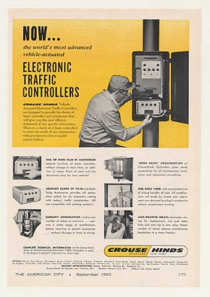 '60 Crouse-Hinds Electronic Traffic Controller (1960)