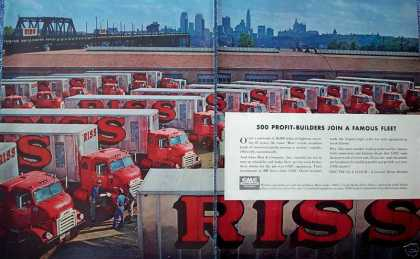 GMC Trucks Riss & Company Motor Carriers (1955)