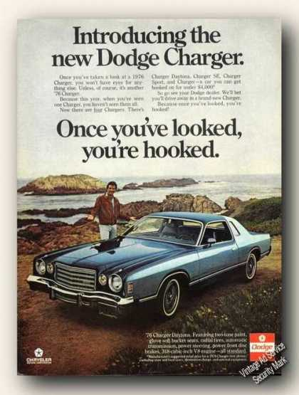 Dodge Charger Rocky Seashore Promo (1976)