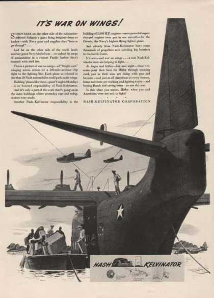 Nash Kelvinator Its War On Wings (1942)