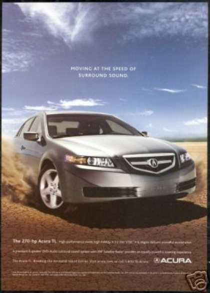 Acura 270 Hp TL Photo Print Car (2005)
