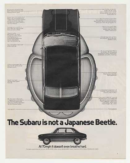 Subaru Not a Japanese Beetle (1971)