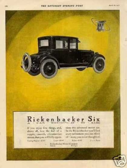 Rickenbacker Six Car (1923)