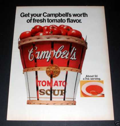 Campbell's Tomato Soup, Big Basket (1970)