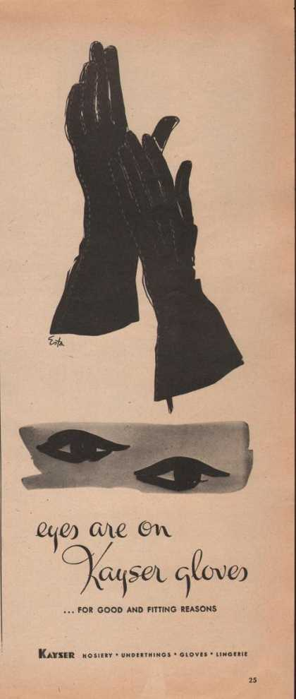 Eyesare Onkayser Gloves for Women (1942)