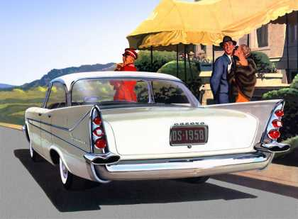 DeSoto Firesweep 4-Door Sportsman (1958)