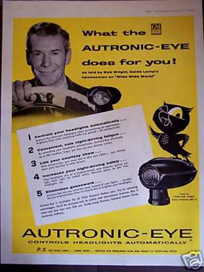 Autronic-eye Car Headlight Controler (1956)